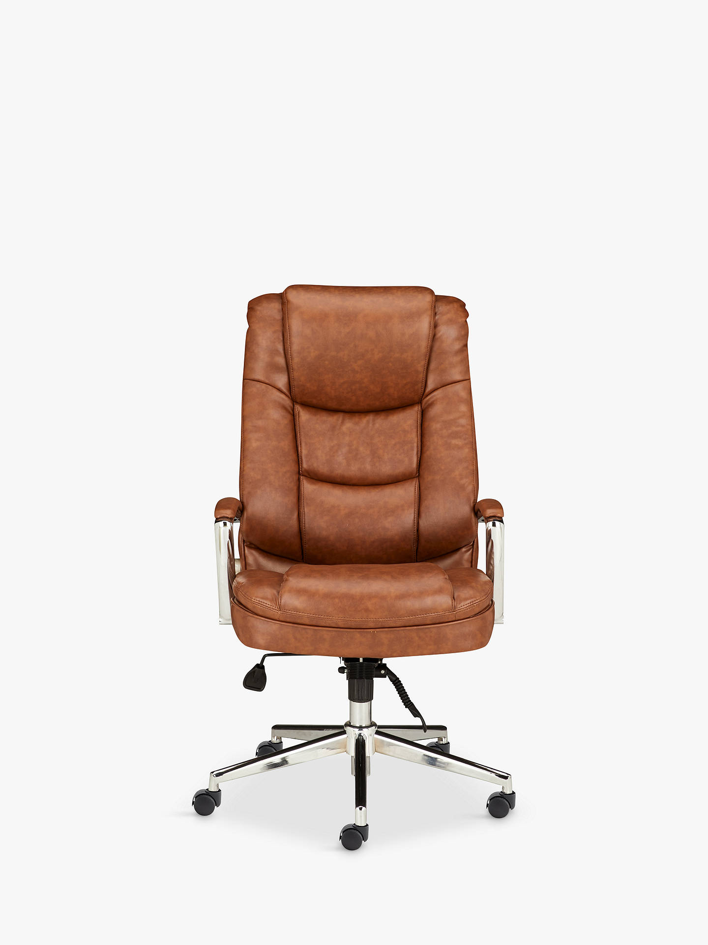 BuyJohn Lewis & Partners Abraham Office Chair, Tan Online at johnlewis.com