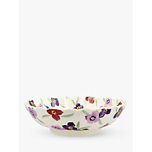 Buy Emma Bridgewater Wallflower Large Fluted Dish, Multi, Dia.25.2cm Online at johnlewis.com
