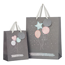 Buy John Lewis Confetti Balloons Gift Bag Online at johnlewis.com