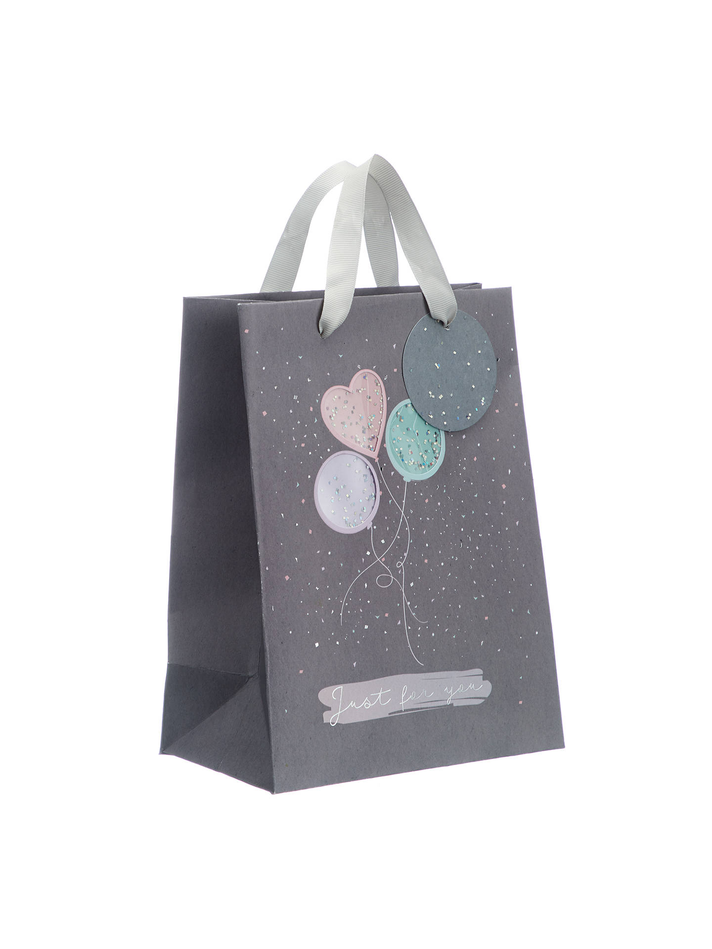 BuyJohn Lewis & Partners Confetti Balloons Gift Bag, Small Online at johnlewis.com