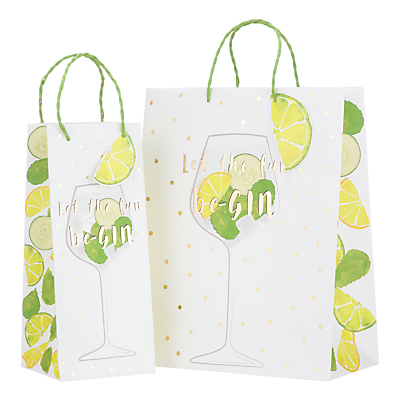 Image of John Lewis & Partners Just Add Gin Gift Bag