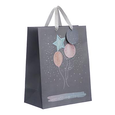 Image of John Lewis & Partners Confetti Balloons Gift Bag