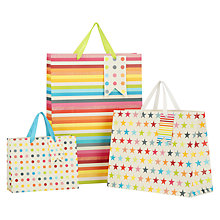Buy John Lewis Multicoloured Gift Bag Online at johnlewis.com