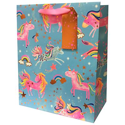 Image of Paper Salad Foiled Unicorn Gift Bag