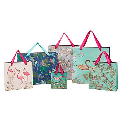 Image of Sara Miller Swans Gift Bag, Large