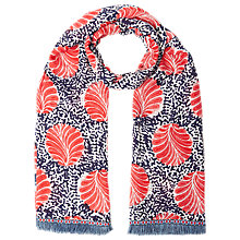 Buy White Stuff Equator Spot Scarf, Navy/Multi Online at johnlewis.com