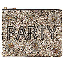 Buy Oasis Party Zip Top Pouch, Multi Online at johnlewis.com