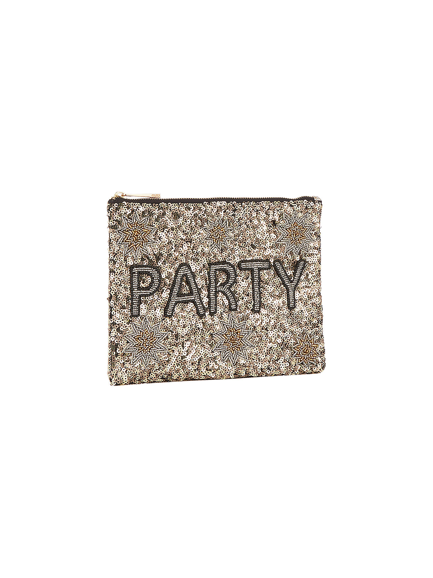 BuyOasis Party Zip Top Pouch, Multi Online at johnlewis.com