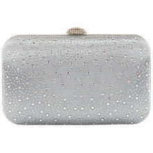 Buy Chesca Satin Diamante Box Clutch Bag Online at johnlewis.com