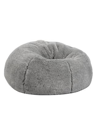 John Lewis & Partners Faux Fur Extra Large Bean Bag