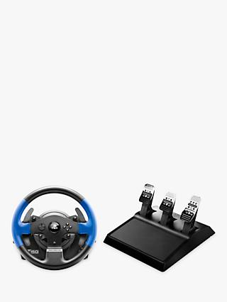 Thrustmaster T150 Pro, Force Feedback Gaming Wheel for PC, PS3 and PS4, Black