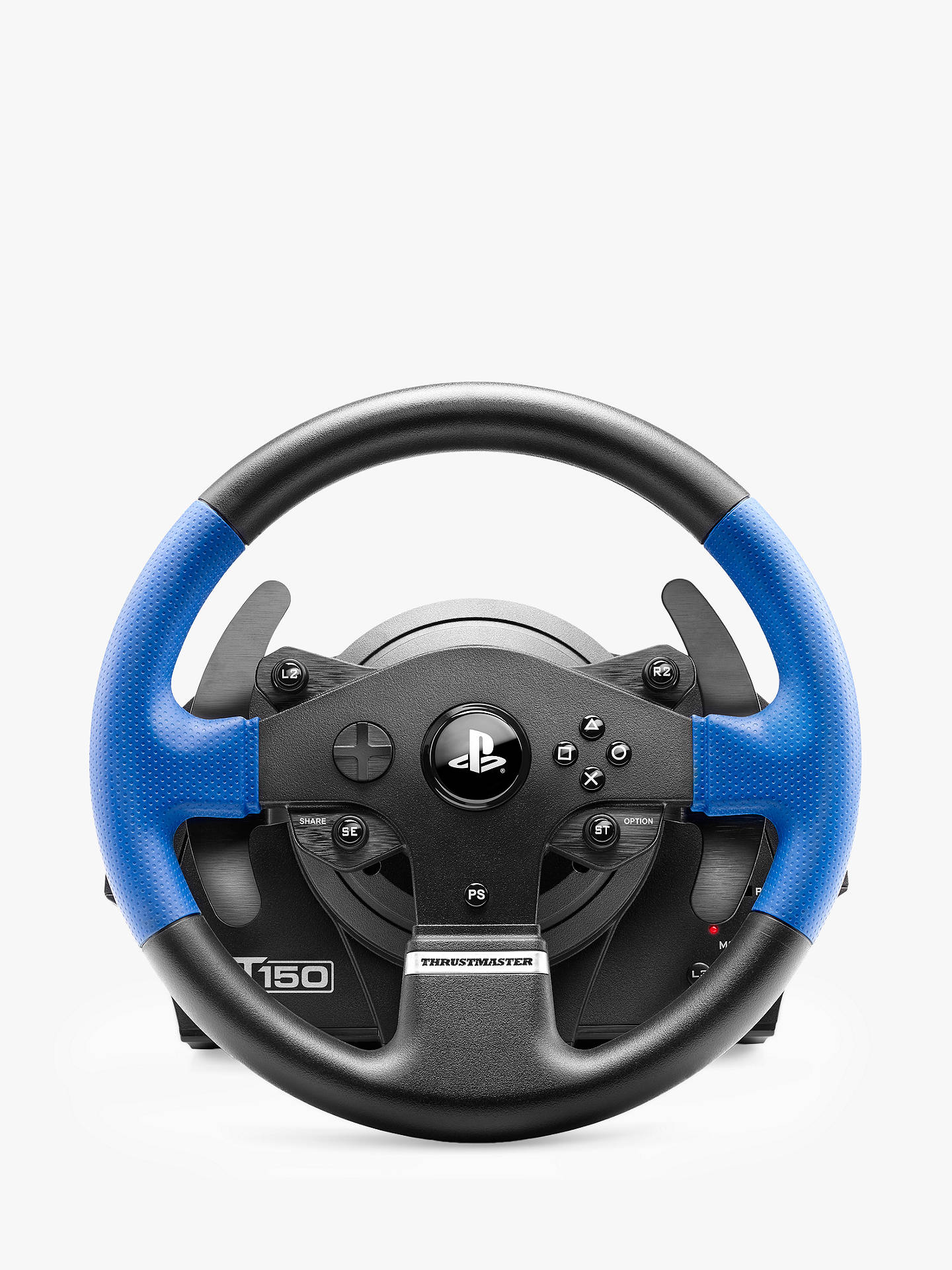 BuyThrustmaster T150 Pro, Force Feedback Gaming Wheel for PC, PS3 and PS4, Black Online at johnlewis.com