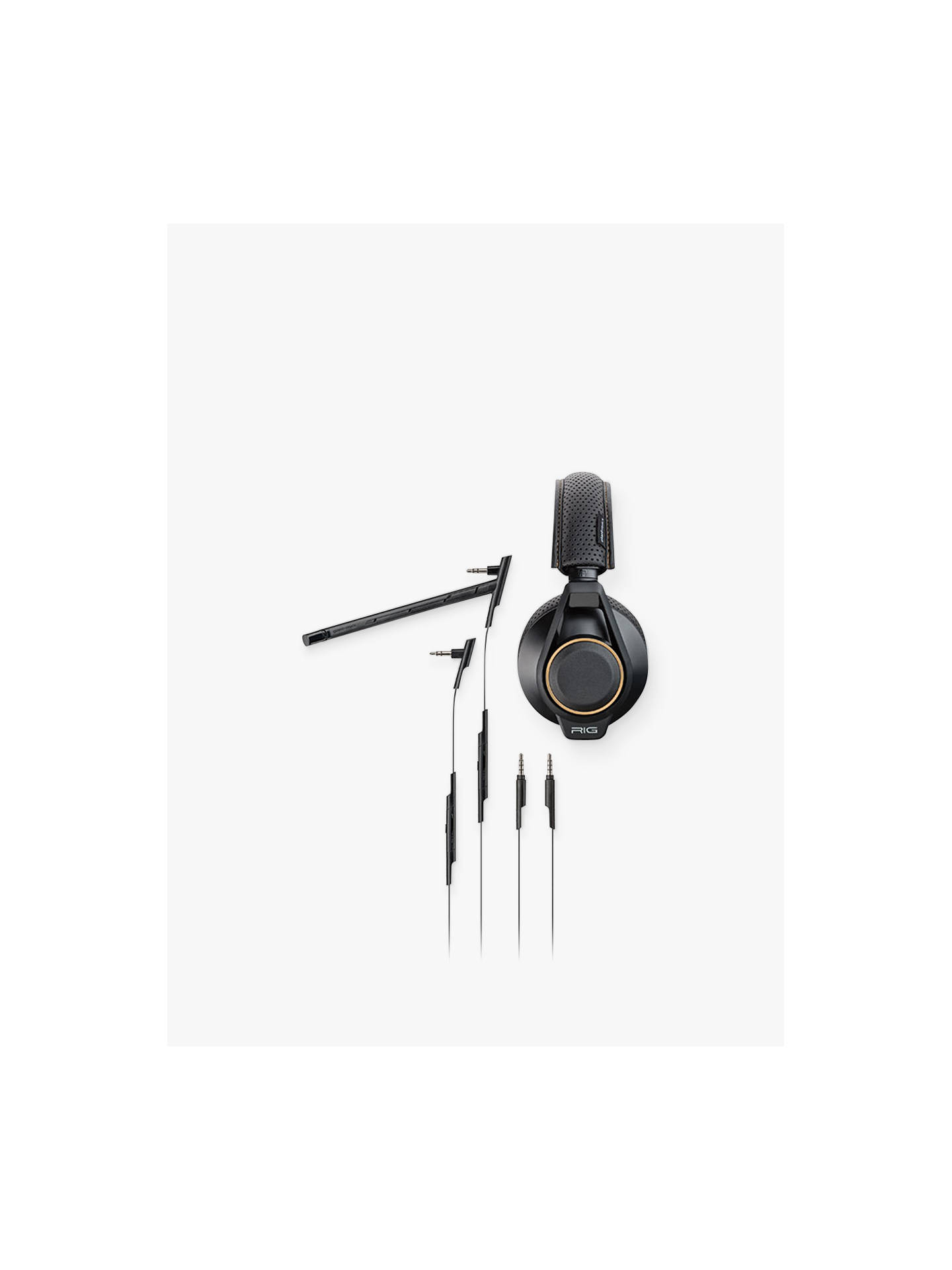 Buy RIG 600 High Fidelity Gaming Headset for PS4 / Xbox One / PC Online at johnlewis.com