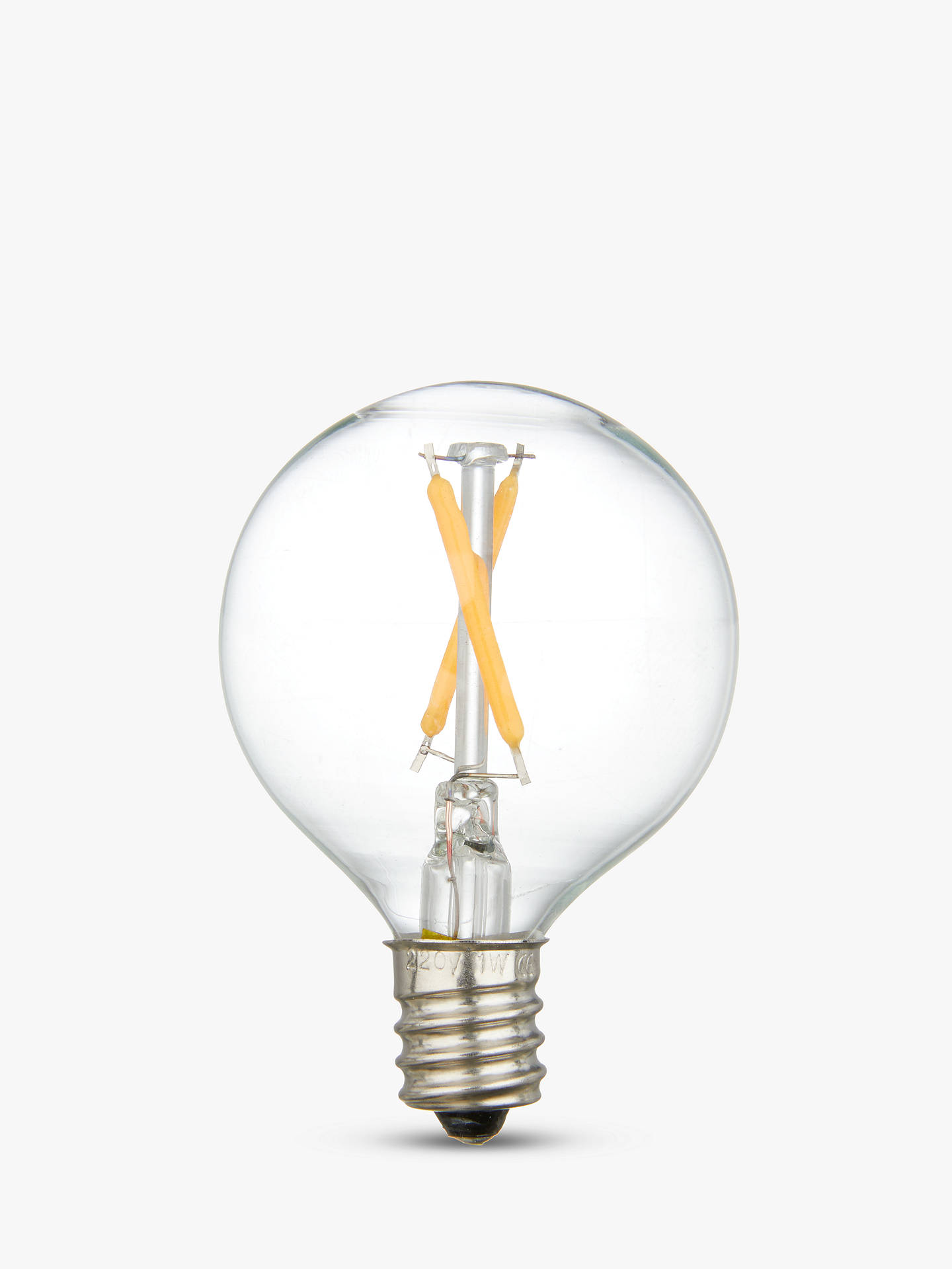 Seletti 1w E12 Led Decorative Filament Light Bulb