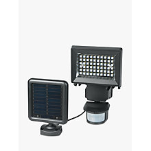 Buy Duracell Solar LED Sensor Security Outdoor Wall Light, Black Online at johnlewis.com