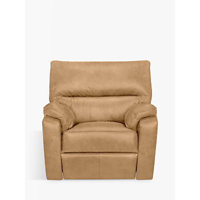 John Lewis Carlisle Leather Power Recliner Armchair