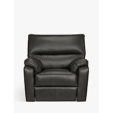 Buy John Lewis Carlisle Leather Power Recliner Armchair Online at johnlewis.com