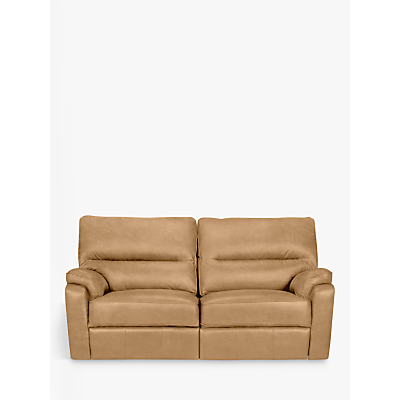 John Lewis & Partners Carlisle Leather Power Recliner Medium 2 Seater Sofa