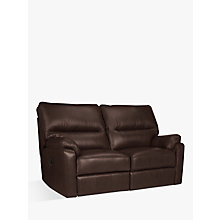 Buy John Lewis Carlisle Leather Power Recliner Small 2 Seater Sofa Online at johnlewis.com