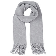 Buy L.K. Bennett Allie Ribbed Tassel Scarf Online at johnlewis.com