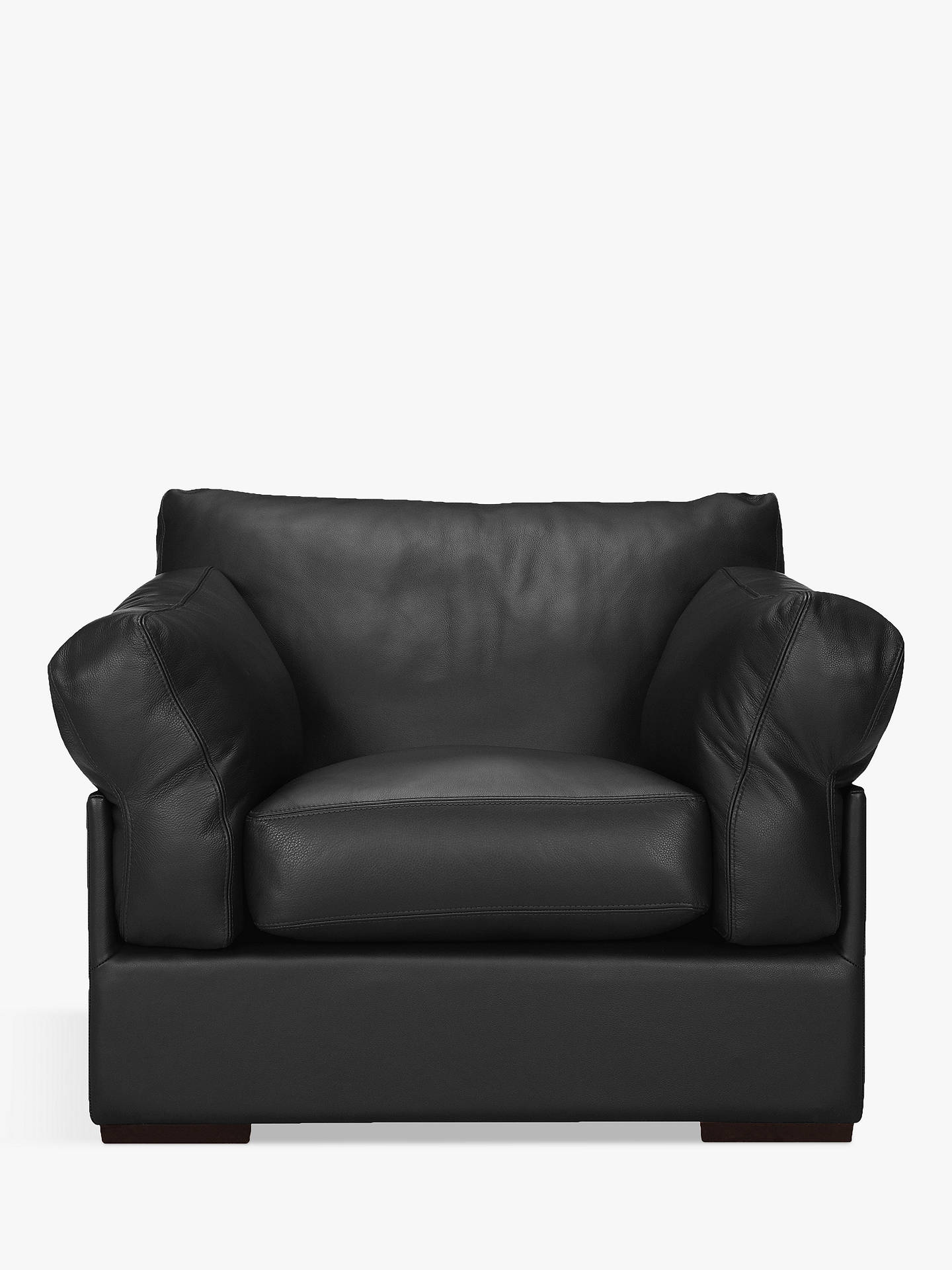 Super John Lewis Partners Java Leather Armchair Dark Leg Cjindustries Chair Design For Home Cjindustriesco