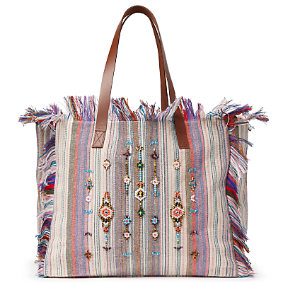 AND/OR Avalon Jewelled Stripe Tote Bag, Multi