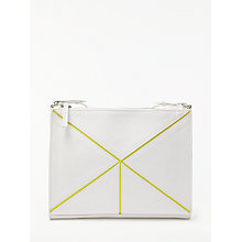 Buy Kin by John Lewis Kyoto Origami Cross Body Bag, White Online at johnlewis.com