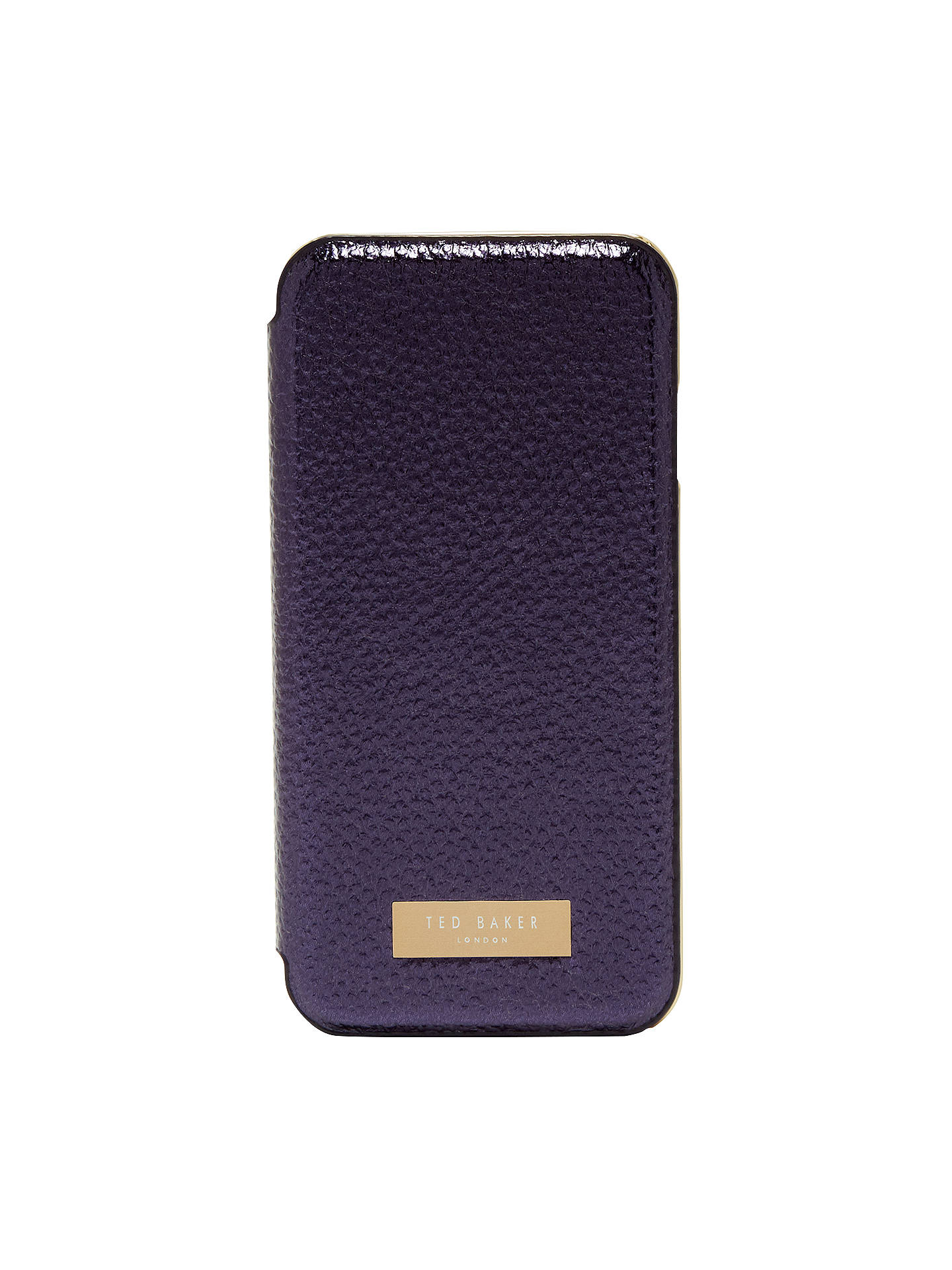 Ted Baker Cedar Textured Metallic iPhone 6/6s/7 Case, Dark Blue
