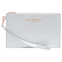 Buy Ted Baker Emerey Leather Wristlet Pouch Online at johnlewis.com