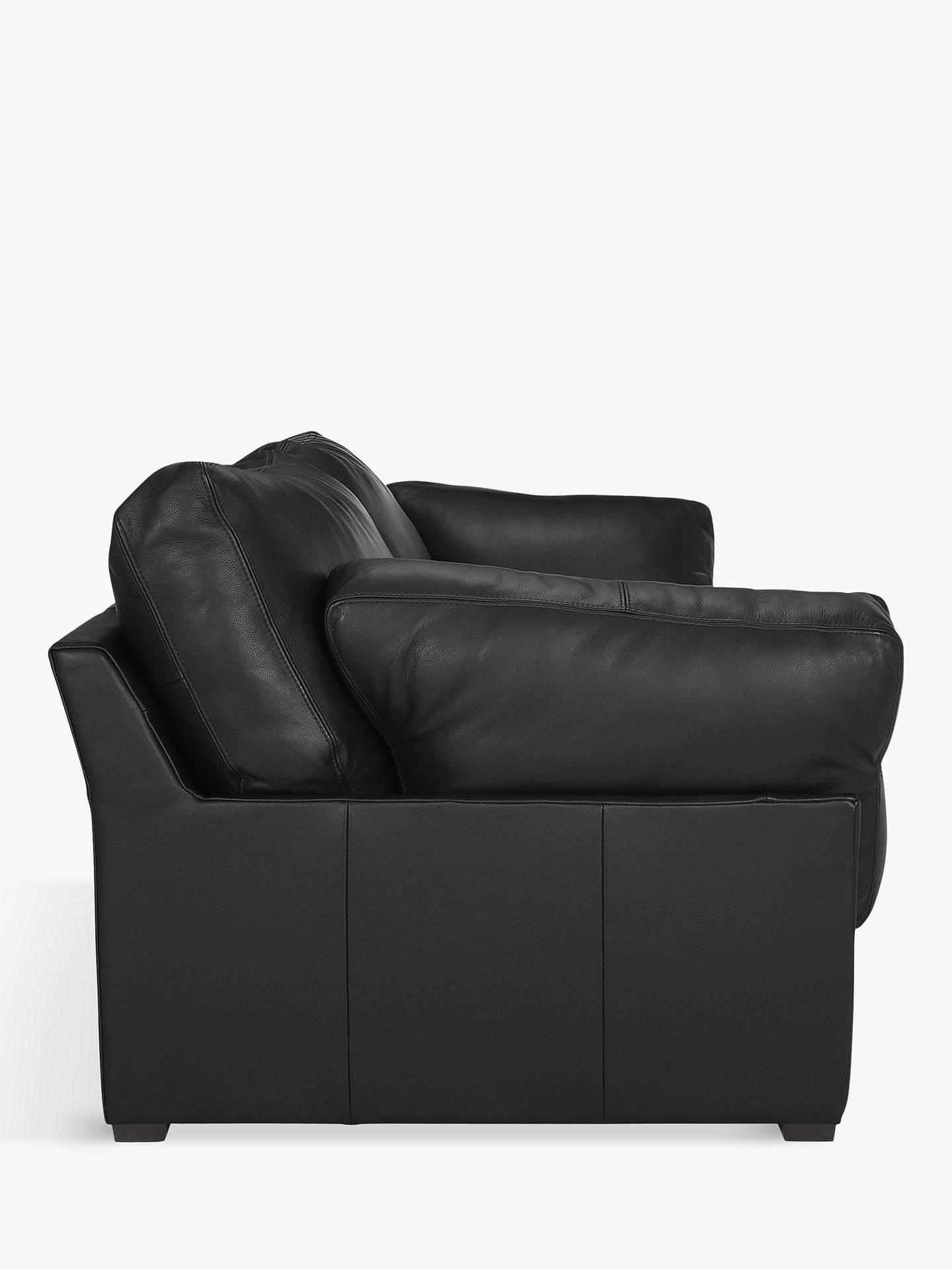 Stupendous John Lewis Partners Java Medium 2 Seater Leather Sofa Cjindustries Chair Design For Home Cjindustriesco
