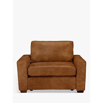 John Lewis Oliver Leather Snuggler, Dark Leg