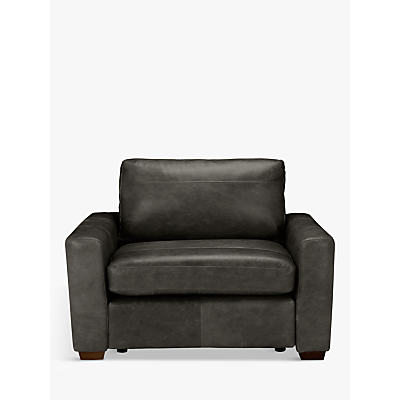 John Lewis Oliver Leather Snuggler, Dark Leg