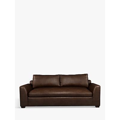 John Lewis & Partners Tortona Leather Large 3 Seater Sofa