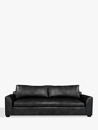 John Lewis & Partners Tortona Leather Grand 4 Seater Sofa