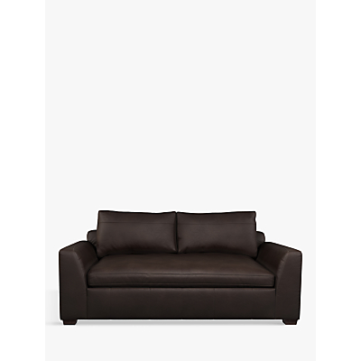 John Lewis Tortona Leather Medium 2 Seater Sofa