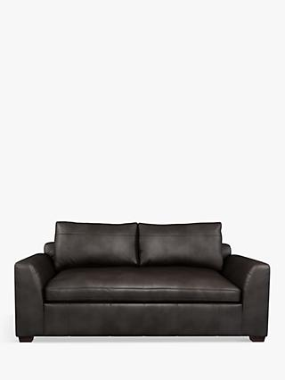 John Lewis & Partners Tortona Leather Medium 2 Seater Sofa