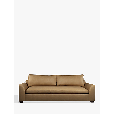 John Lewis Tortona Leather Grand 4 Seater Sofa