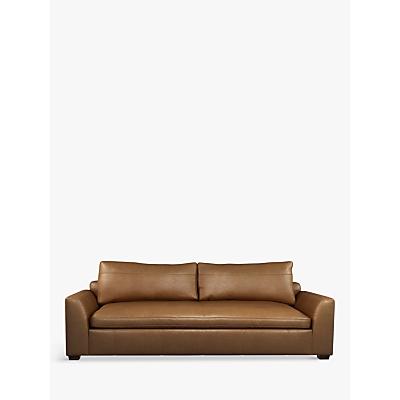 John Lewis & Partners Tortona Leather Grand 4 Seater Sofa