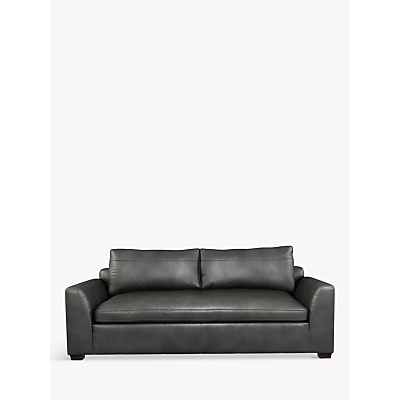 John Lewis Tortona Leather Large 3 Seater Sofa