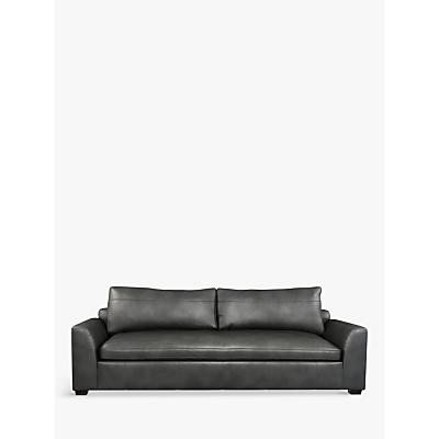 John Lewis Tortona Leather Grand 4 Seater Sofa