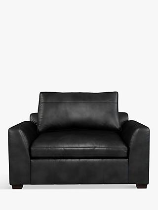 John Lewis & Partners Tortona Leather Snuggler