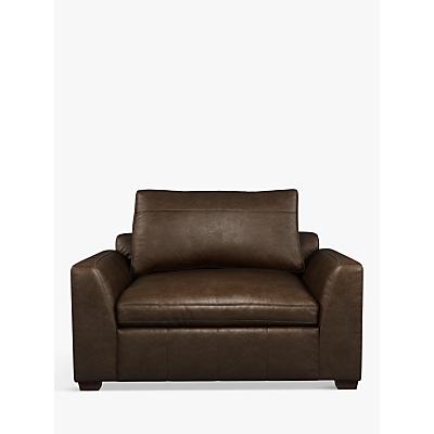 John Lewis & Partners Tortona Leather Snuggler