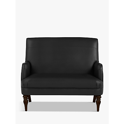 John Lewis Sterling Leather Snuggler, Dark Leg