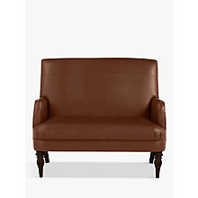 Buy John Lewis Sterling Leather Snuggler, Dark Leg Online at johnlewis.com