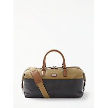 Buy Ted Baker Ranch Canvas Holdall, Tan Online at johnlewis.com