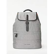 Buy Ted Baker Rayman Backpack, Grey Online at johnlewis.com