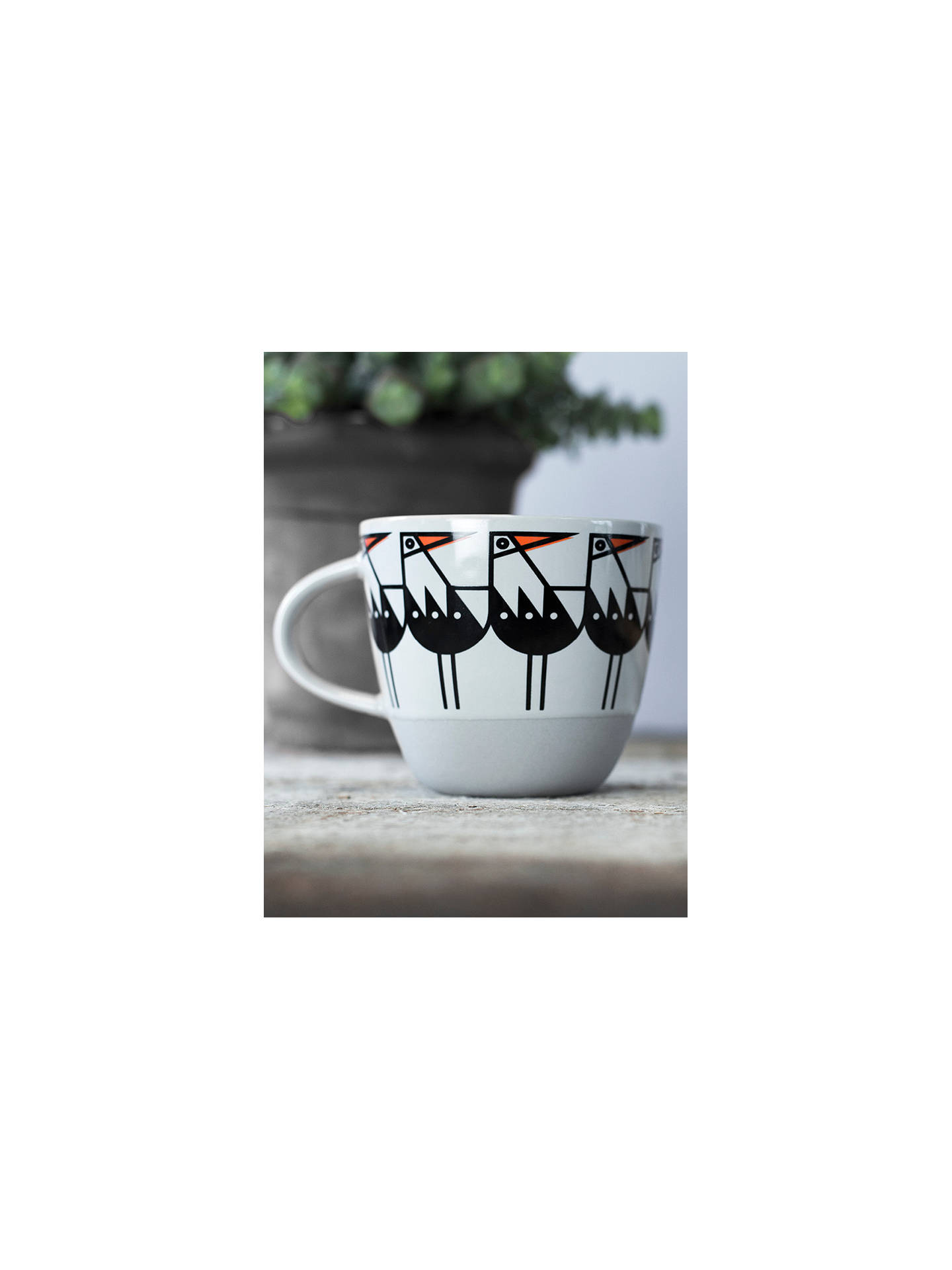 BuyBert & Buoy Oyster Catcher Mug, White/Multi, 330ml Online at johnlewis.com