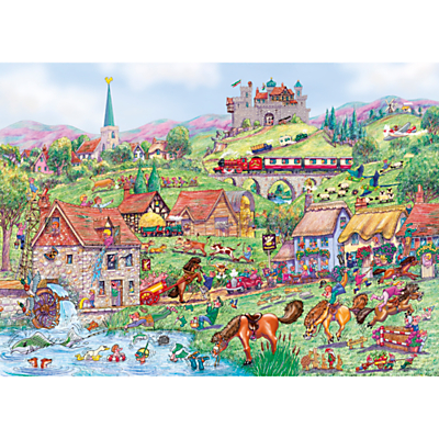 Image of Gibsons Horsing Around, Jigsaw Puzzle, 1000 Pieces