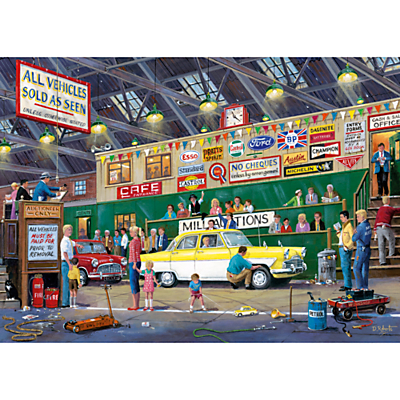 Image of Gibsons Going Once, Going Twice, Jigsaw Puzzle, 1000 Piece