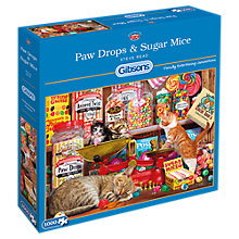 Buy Gibsons Paw Drops and Sugar Mice, Jigsaw Puzzle, 1000 Piece Online at johnlewis.com
